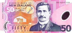 50 dolarów nowozelandzkich