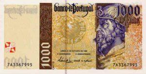 1000 escudo portugalskich
