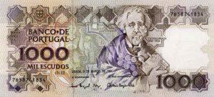 1000 escudo portugalskich - banknot 2