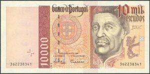 10000 escudo portugalskich - banknot 2