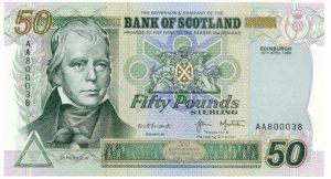 50 funtów szkockich
