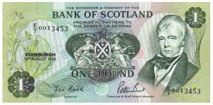 1 funt szkocki