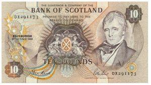 10 funtów szkockich - banknot 2