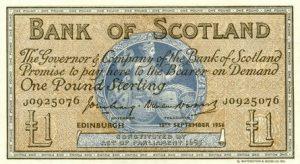 1 funt szkocki - banknot 2