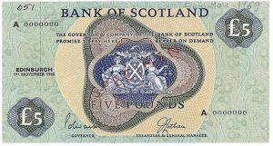 5 funtów szkockich - banknot 2