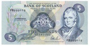 5 funtów szkockich - banknot 3