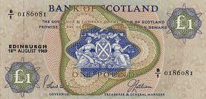 1 funt szkocki - banknot 3