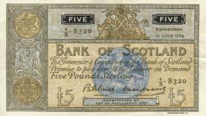 5 funtów szkockich - banknot 4