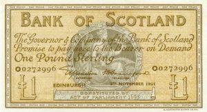 1 funt szkocki - banknot 4