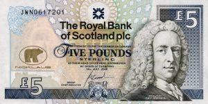 5 funtów szkockich - banknot 6