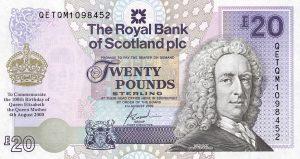 20 funtów szkockich - banknot 5