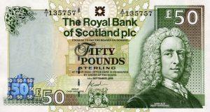 50 funtów szkockich - banknot 2