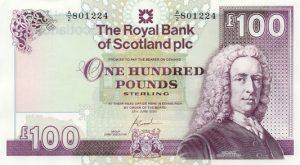 100 funtów szkockich - banknot 2