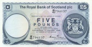 5 funtów szkockich - banknot 7