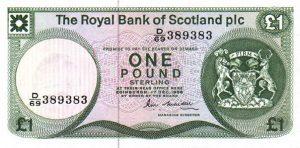 1 funt szkocki - banknot 8