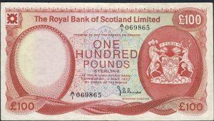 100 funtów szkockich - banknot 3