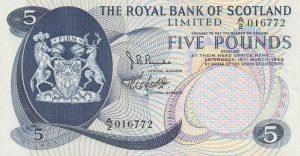 5 funtów szkockich - banknot 8