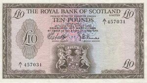 10 funtów szkockich - banknot 5
