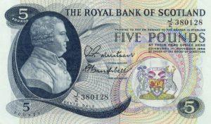 5 funtów szkockich - banknot 9