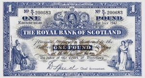 1 funt szkocki - banknot 10