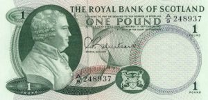 1 funt szkocki - banknot 11