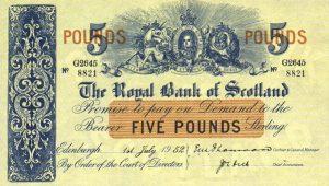 5 funtów szkockich - banknot 10
