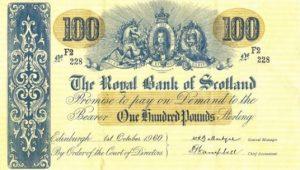 100 funtów szkockich - banknot 4