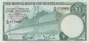 1 funt szkocki - banknot 12
