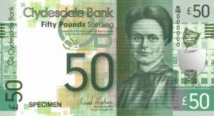 50 funtów szkockich - banknot 3