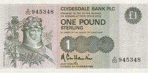 1 funt szkocki - banknot 13