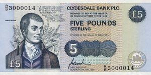 5 funtów szkockich - banknot 13
