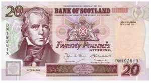 20 funtów szkockich