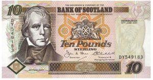 10 funtów szkockich