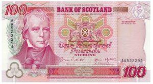100 funtów szkockich