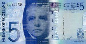 5 funtów szkockich - banknot 14