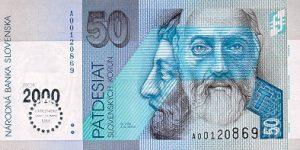 50 koron słowackich