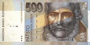 500 koron słowackich
