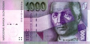 1000 koron słowackich