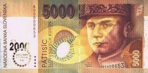 5000 koron słowackich
