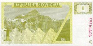 1 talar słoweński