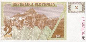 2 talary słoweńskie