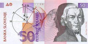 50 talarów słoweńskich