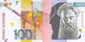 100 talarów słoweńskich