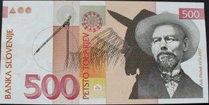 500 talarów słoweńskich