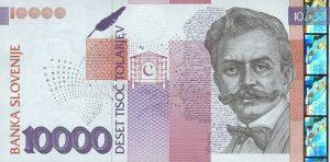 10000 talarów słoweńskich