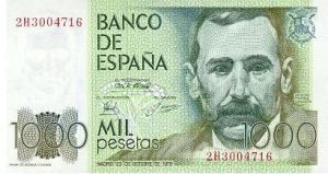 1000 peset hiszpańskich - banknot 2