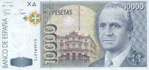 10000 peset hiszpańskich