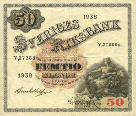 50 koron szwedzkich