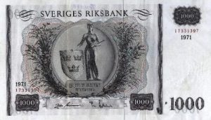 1000 koron szwedzkich - banknot 3