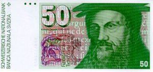 50 franków szwajcarskich - banknot 2